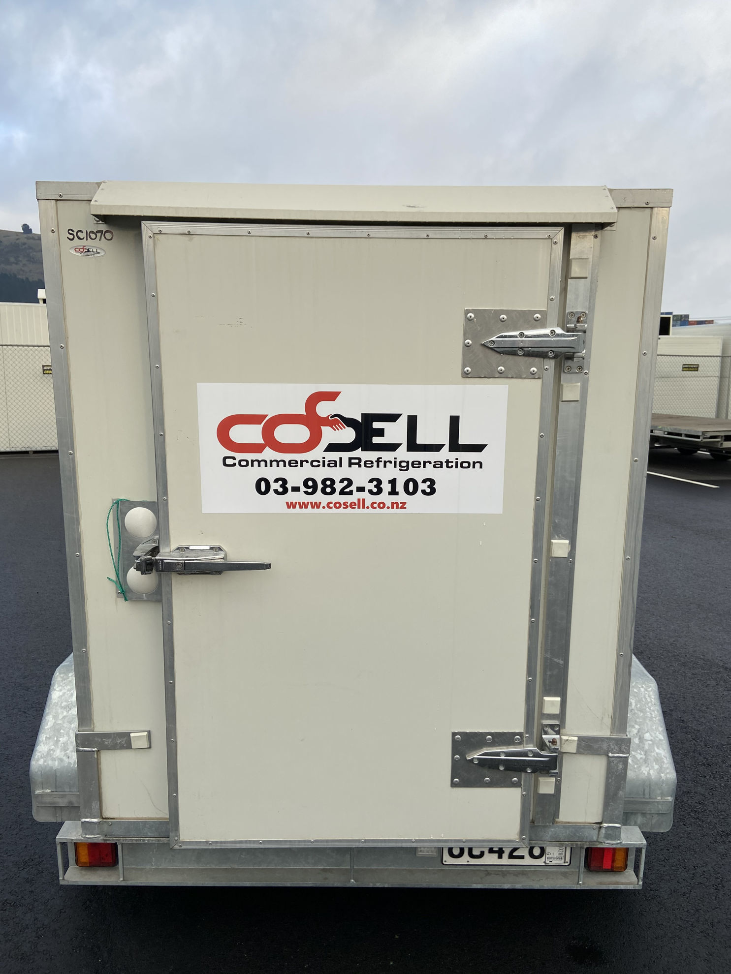 Small Chiller Trailer